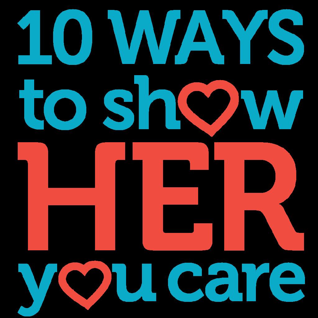 show her you care logo
