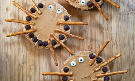 Peanut Butter Spiders