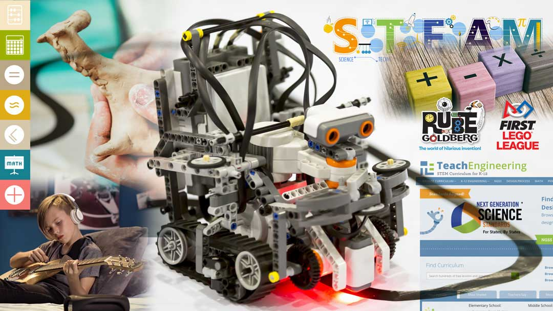 Building Up STEAM: 35 Easy Ideas to Try at Home