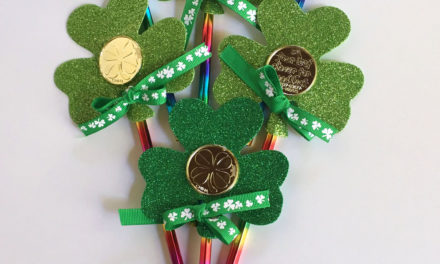 Shamrock Pencil Topper