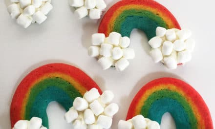 St. Patty's Rainbow Cookies