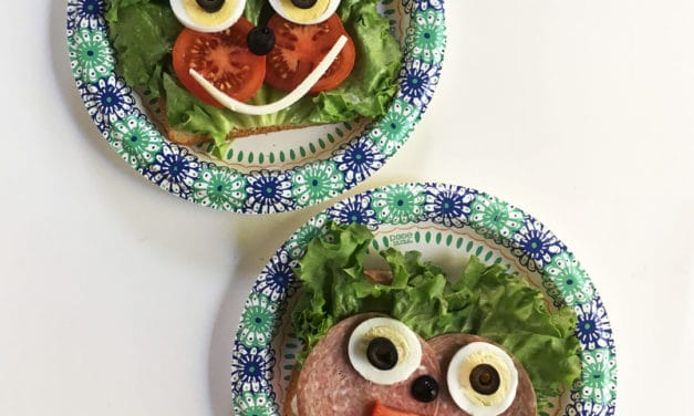"Open-""Faced"" Sandwiches"
